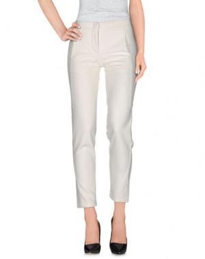 Повседневные брюки ROSE & WILLARD. Цвет: слоновая кость