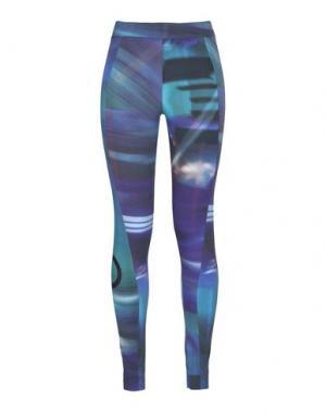 Легинсы Y-3. Цвет: фиолетовый