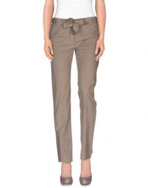 Повседневные брюки NICOLAS & MARK. Цвет: голубиный серый