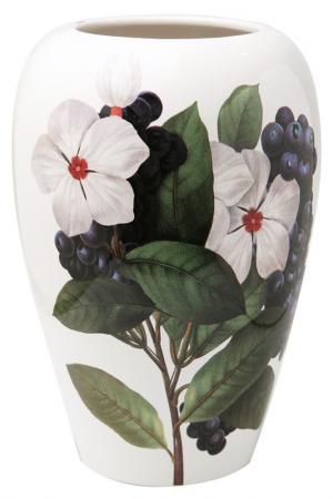 Ваза выпуклая 19x26см Ceramiche Viva. Цвет: мультицвет