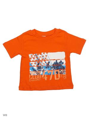 Футболка DIANGELI. Цвет: оранжевый