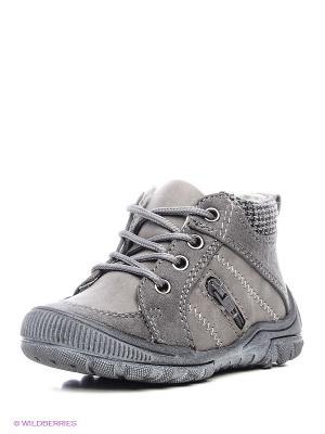 Ботинки PlayToday. Цвет: серый, коричневый