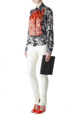 Блуза с длинными рукавами и принтом Duro Olowu. Цвет: multicolor