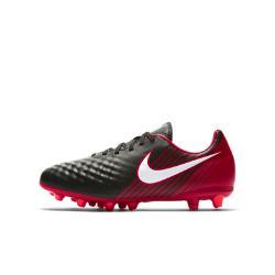 Футбольные бутсы для игры на искусственном газоне школьников  Jr. Magista Onda II AG-PRO Nike. Цвет: красный