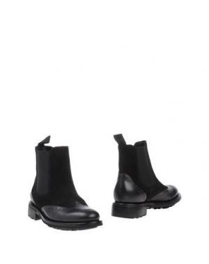 Полусапоги и высокие ботинки CAMPANILE. Цвет: черный