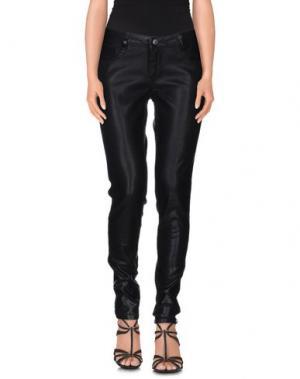 Джинсовые брюки BLEULAB. Цвет: черный