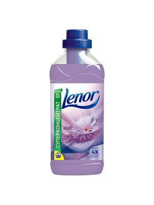 Концентрированный кондиционер для белья, Свежесть Лаванды, 2л. Lenor. Цвет: лиловый