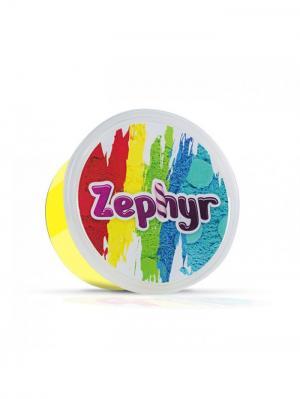 Кинетический пластилин Zephyr.. Цвет: желтый