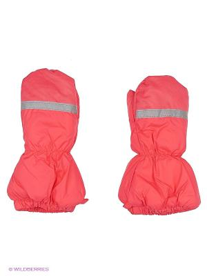 Варежки детские Cherubino. Цвет: розовый