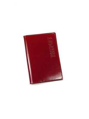 Обложка для паспорта BEFLER. Цвет: светло-коричневый