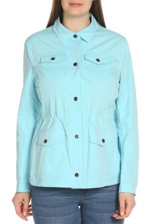 Куртка HARTWEAR. Цвет: молочно-голубой