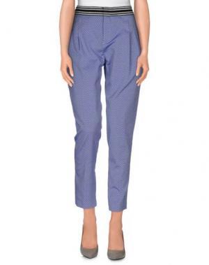 Повседневные брюки TERESA DAINELLI. Цвет: сиреневый