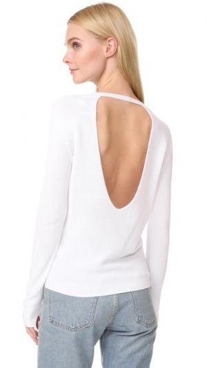 Пуловер Ode Brochu Walker. Цвет: сверкающий белый