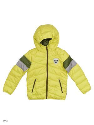 Куртка BOOM. Цвет: хаки, серый, салатовый