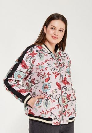 Куртка Violeta by Mango. Цвет: разноцветный
