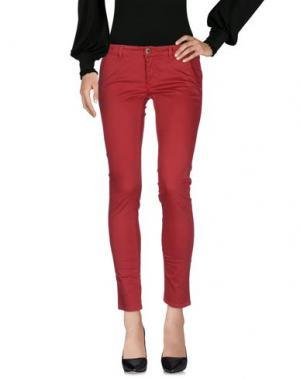Повседневные брюки CAMOUFLAGE AR AND J.. Цвет: красный