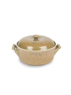 Кастрюля из жаростойкой керамики (духовка/микроволновка) 2,75 л Peterhof. Цвет: бежевый