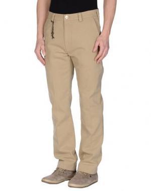 Повседневные брюки BSBEE. Цвет: хаки