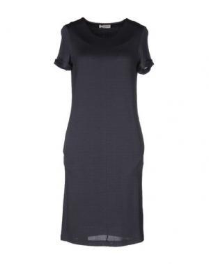 Платье до колена BARBON. Цвет: свинцово-серый
