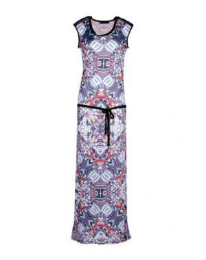 Длинное платье CUSTO BARCELONA. Цвет: фиолетовый