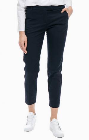 Синие брюки чиносы из хлопка Marc O'Polo. Цвет: синий