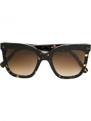 Солнцезащитные очки Le cinq a Sept Zanzan. Цвет: чёрный