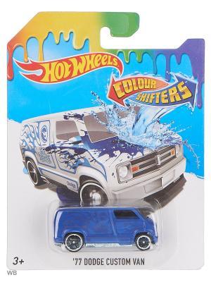 Машинка, изменяющая цвет Hot Wheels. Цвет: темно-синий, белый