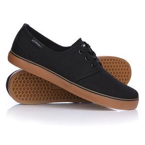 Кеды кроссовки низкие  Crip Black/Gum Circa. Цвет: черный