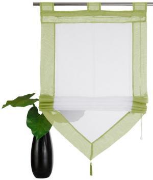 Римская штора Xanten Otto. Цвет: зеленый