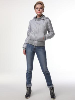 Куртка DizzyWay. Цвет: светло-серый