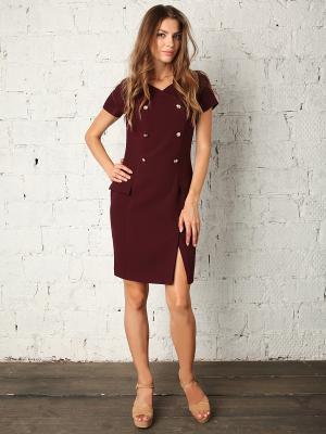 Платье Fashion.Love.Story.. Цвет: бордовый