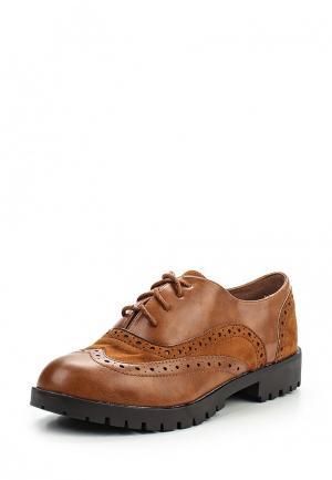 Ботинки Fiori&Spine. Цвет: коричневый