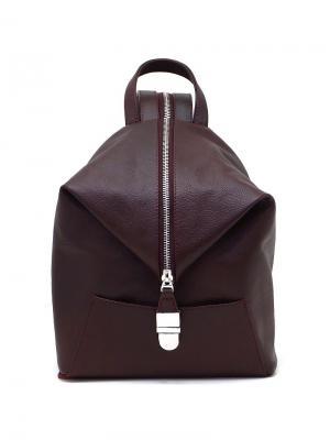 Рюкзак Solo true bags. Цвет: темно-бордовый