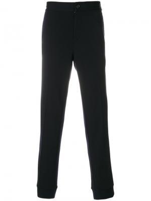 Прямые брюки Ermenegildo Zegna. Цвет: синий