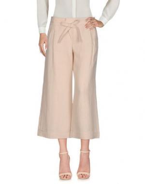 Повседневные брюки STRENESSE. Цвет: светло-розовый