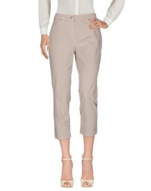 Повседневные брюки BARONI. Цвет: светло-серый