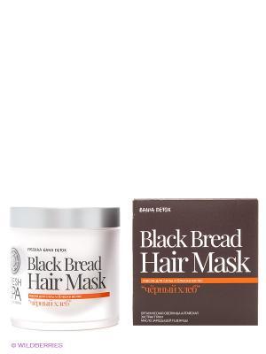 Bania detox маска для волос черный хлеб, 400 мл Natura Siberica. Цвет: белый