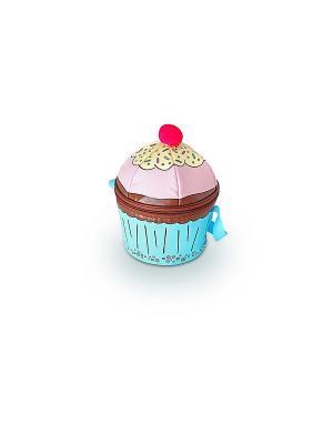 Детская сумка-термос Cupcakes Novelty Thermos. Цвет: розовый, голубой