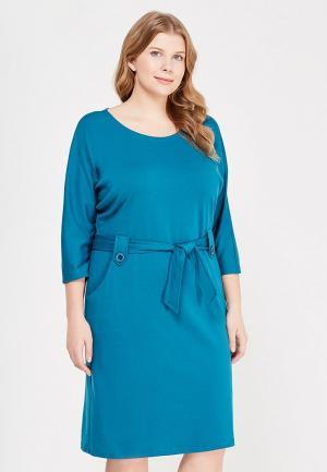 Платье S&A Style. Цвет: бирюзовый