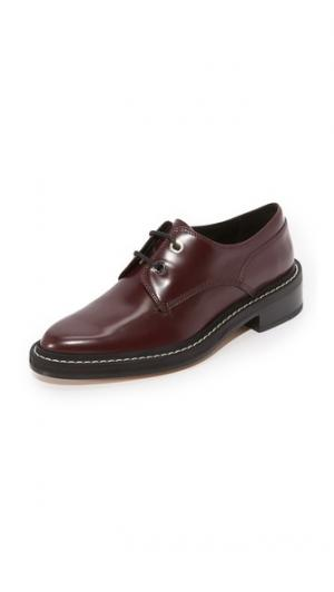 Ботинки на шнурках Kenton Rag & Bone. Цвет: бордовый
