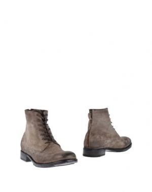 Полусапоги и высокие ботинки SARTORI GOLD. Цвет: серый