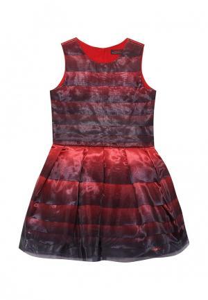 Платье Catimini. Цвет: красный