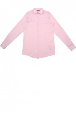 Рубашка Dal Lago. Цвет: розовый