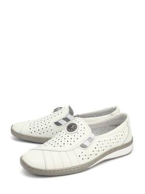 Туфли LETMI. Цвет: белый