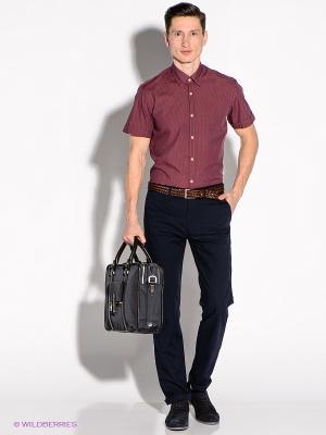 Рубашка Greg Horman. Цвет: бордовый