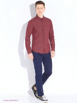 Рубашка MEXX. Цвет: бордовый