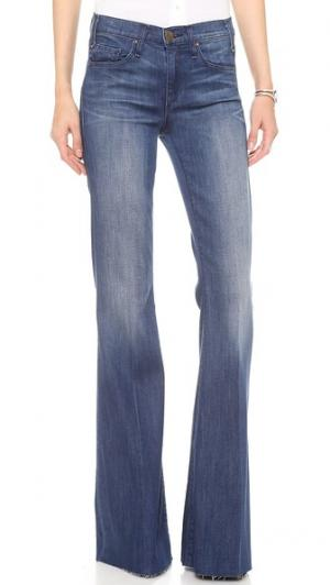 Расклешенные джинсы Majorelle McGuire Denim. Цвет: голубой