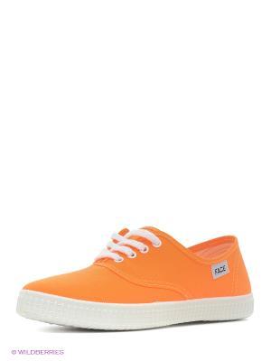 Кеды FACE. Цвет: оранжевый