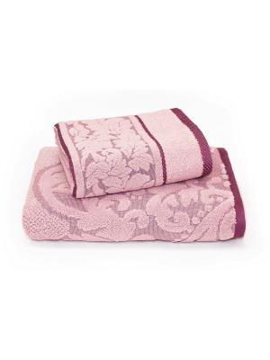 Полотенце, 2 шт. Унисон. Цвет: розовый