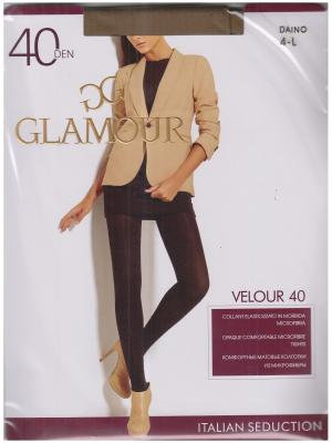 Колготки Velour Glamour. Цвет: бронзовый